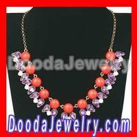 2013 NEW Crew Style Bubble Bib Necklace Wholesale JW0131-26 Free Shipping