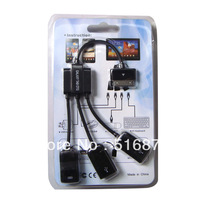 Free Shipping  3 in 1 USB OTG Host Hub Cable Adapter For Samsung Galaxy Tab 10.1 P7510 P5100