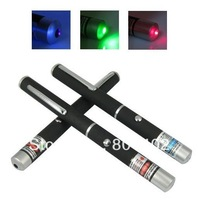 3pcs/lot 5mW Laser Pointer Pen with 3 Colors Red Green Bule Purple Laser Ray Beam For Teach. Free Shipping