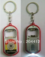 Deutschland Germany Soccer 2 in 1 Bottle Opener LED Light Lamp Keyring