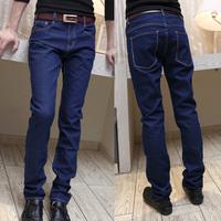 Coo Soo 2012 male slim blue jeans elastic trousers skinny pants 230 p40