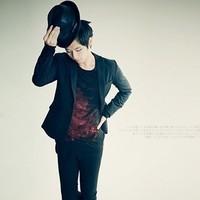 Coo Soo Personality leading the fashion Night elf 2013 blazer male suit x039 w