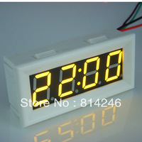Free shipping, ,0.56 Precision LED digital watches automotive electric car adjustable vehicle electronic clock