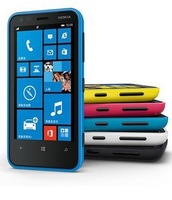 "Windows phone 8 Qualcomm Dual Core 1GHz 512M RAM 8G ROM 3.8"" 800x480 Dual cameras 5.0MP WIFI Bluetooth 3G Cell Phone"