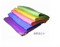 Free shipping  PVA chamois Magic towel  hair drying oil car cleaning bath travel towel towel Size 40*30cm dropship