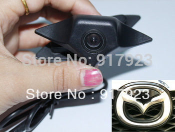 Car Front view CMOS Hidden Logo Brand Camera  for Mazda Night vision with Chip  pixelplus 1089