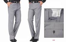 2015 New Designer Slim Fit Men pants Starched Trousers Formal Dress pants Brand Suit Pants for Men Business Pants(China (Mainland))
