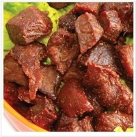 Deliver the goods free of Inner Mongolia speciality seven points dry beef jerky 250 grams