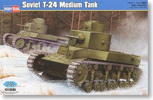 Hobby Boss model  82493 1/35 Soviet T-24 Medium Tank Tank model kit