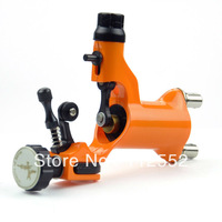 Orange color Silent Rotary Motor Tattoo Dragonfly Machine Gun for Shader supply B00016-4 - gum polishing