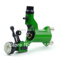 Green Rotary Motor Tattoo Dragonfly Style Machine Gun for Shader & Liner Supply B00016-3 - gum polishing