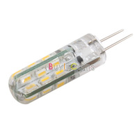 G4 3.6W 3500K 320-Lumen 24-SMD 3020 LED Warm White Light Bulb DC 12V   #28096