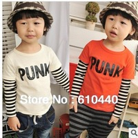 5pcs/lot,wholesale and retail Free shipping kids long sleeve t-shirt boys Tshirt baby tops childrens autumn spring cloth