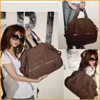 Fashion Women Canvas Shoulder Bags Cool Zipper Decorate, Cross Body Travel Bag FW0111