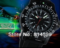 Cool! New arrival Hot US Army outdoor fashion sports luminous large dial men's royal military wrist watches+free shipping
