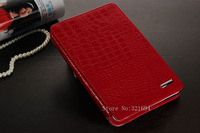 2013 New Style Business Style Crocodile Leather Cover Case for iPad MIni
