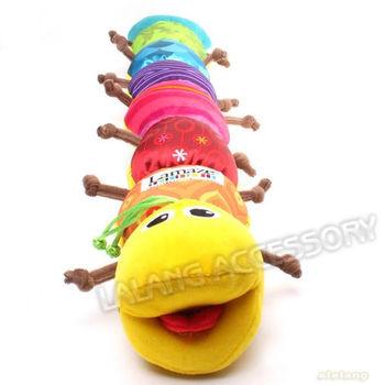 1set/lot Popular Cute Colorful Musical Inchworm Toys Soft Lovely Developmental Baby&Children&Kid Toys Gift 58cm EJ650667