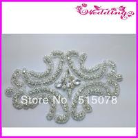 2013 new wedding rhinestone bridal applique