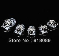 Newest Item Free Shipping Wholesale/ Nails Supply, 50pcs 3D Alloy Black Bowtie DIY Acrylic Nails Design/ Nails Art, Unique Gifts
