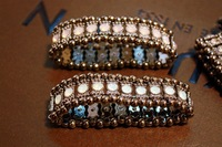 Free shipping 2013 1 lot/10pcs macy jewelry  crystal stretch bracelet elastic hand chain cuff bracelet fashion bangle