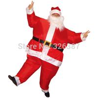 Inflatable Santa Claus Adult Costume