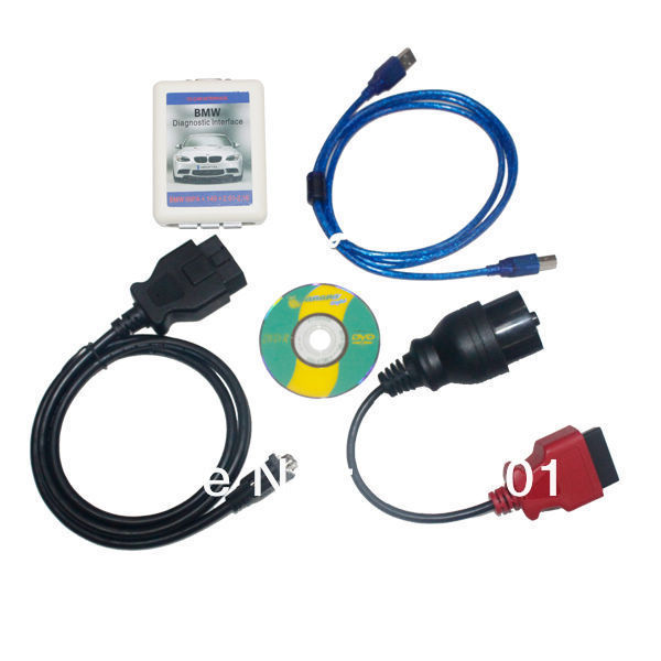 Free Shipping 4 IN 1 1~8 Series X Z Mini Series Diagnostic Interface DASH INPA K+CAN SCANNER 2.01(China (Mainland))