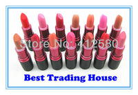 FREE SHIPPING ! 10 Pcs / lot  Makeup  LUSTRE LIPSTICK/ROUGE A LEVRES LIP STICK Mix Color