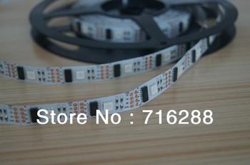 DHL free shipping WS2801 IC digital Addressable RGB led Dream Color strip 32LEDs/M 32 Image Pixel 60M/lot