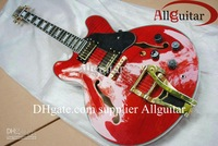 jazz Hollow Musical Instruments 335 electric guitar Bigsby Tremolo HOT SALE