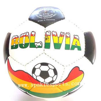 Official Bolivia hand sewn football & soccer ball, 500pcs/lot, free logo printing