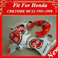 For Honda Fairing CBR250RR Bodykit Motorcycle MC22 CBR250RR 91 92 93 94 95 96 97 98 Motorcycle Part ABS
