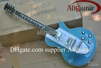 Custom Shop 1960 Corvette guitar blue metallic music electric guitar free shipping