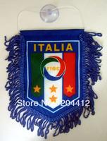 ITALY ITALIA SOCCER TEAM MINI BANNER FLAG PENNANT #01