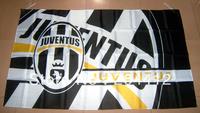 JUVENTUS FC SOCCER BIG BANNER FLAG PENNANT #42