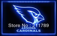 A024 B ARIZONA CARDINALS NFL Football Bar Pub LED Light Sign