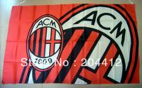 AC MILAN FC SOCCER BIG BANNER FLAG PENNANT #42