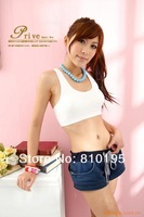 Cheap 2014 woman active New Yoga the word bra waistcoat vest sexy crop top camisole