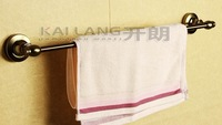 high-class single bar bath towel rack towel bar and holderantique brush bronze aluminum 60cm