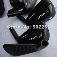 Miura Limited Forged Black Blade Golf iron 3#-9#,PW 8 Clubs True Temper Dynamic Gold 300 shaft Free Shipping