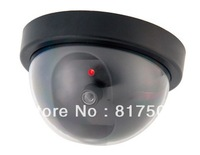 Free Shipping Style Emulational Fake Decoy Dummy Security CCTV DVR for Home Camera with Red Blinking LED