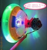 LED-1745 portable lighting Frisbee lanterns colored lights - plastic toys