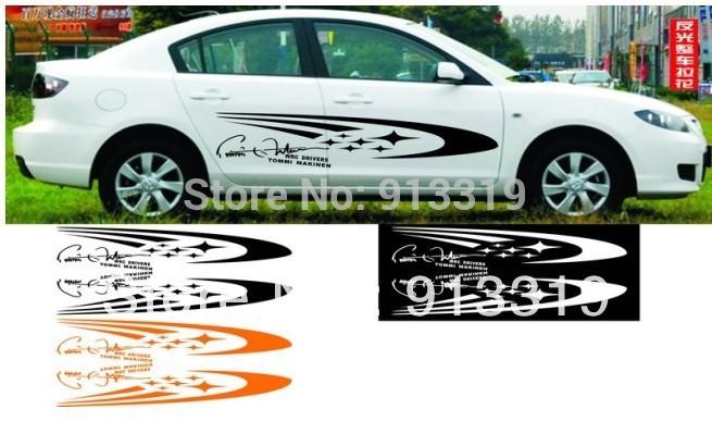 Diseños de calcomanias para autos deportivos - Imagui
