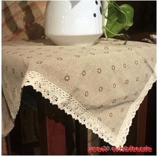 140X180cm Handmade thick linen cotton fabric table mat  bowl pad heat insulation pad zakka ALi xinsu20 005