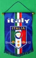 ITALY ITALIA NATIONAL SOCCER TEAM BANNER FLAG PENNANT #33