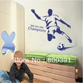 jm8261 size 50*70CM Free shipping Sports Wall sticker FOOTBALL Wall Mural Decal Home Decor Art Wall decor Vinyl sports item