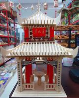 2015 Top Fashion New Toys Brinquedos Meninos Academia Wooden Three-dimensional Jigsaw Model Puzzle Toy Mdash . He free Shipping
