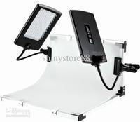 FALCONEYES Slim LED Panel Kit Set LED Video Light Lamp for DV Video Camera SLPK-2120LTV