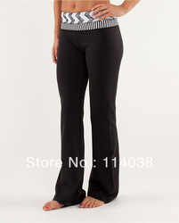 Free Shipping Wholesale retail New designer brand LULULEMON pants Cheap Yoga lulu lemon clothing Size 2 4 6 8 10 12(China (Mainland))