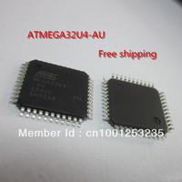 ATMEL ATMEGA32U4-AU Free shipping (10 pieces/lot) 100% NEW  MCU AVR 32K FLASH 16MHZ 44-TQFP