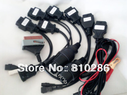 The best price For auto com cable for car For autocmon cdp&prog cables for most cars hot selling(China (Mainland))